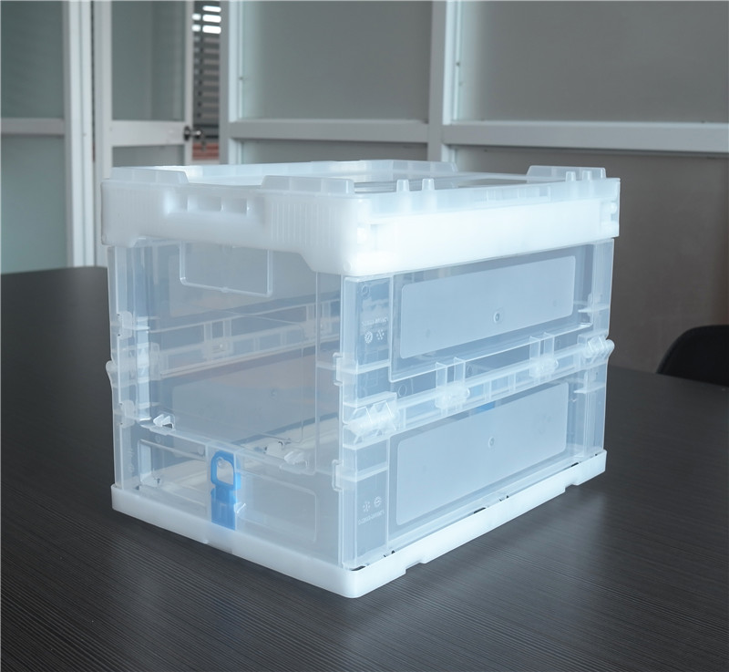 ZJXS3626285C transparent color 20 Liter small storage bin and box with lid