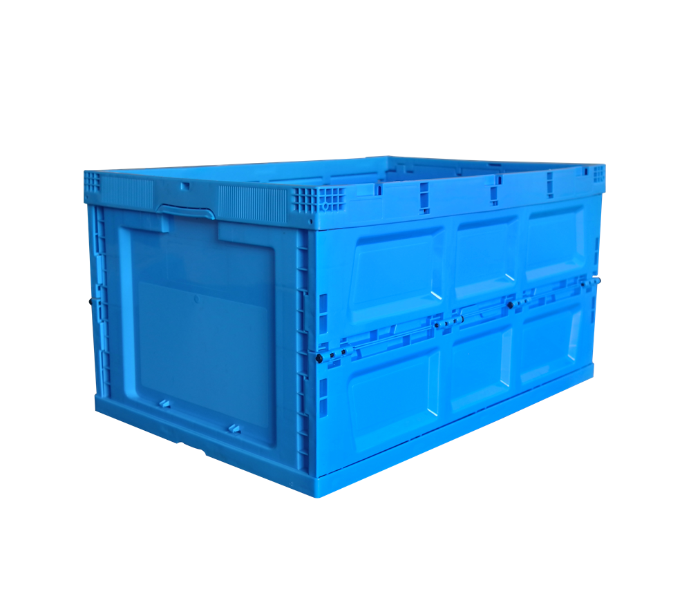 ZJXS6544345W blue color collapsible storage container without lid