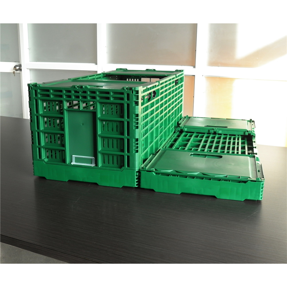 NEW !!! Fresh cut flower use crate foldable plastic crate vented type box