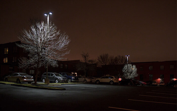 Luxembourg LED Parking Lots Light