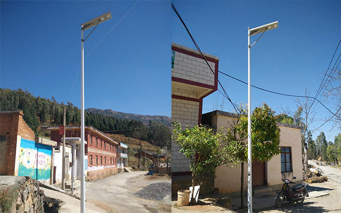 China's Rural Intergrated Solar LED Street Light