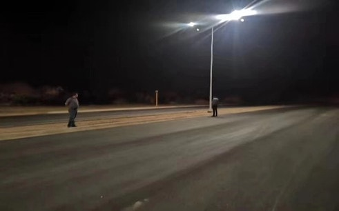 SH14 Solar LED Street light Project in Mexico
