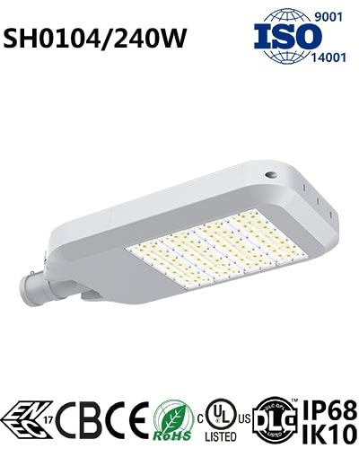 SH0104 240W LED Street Light