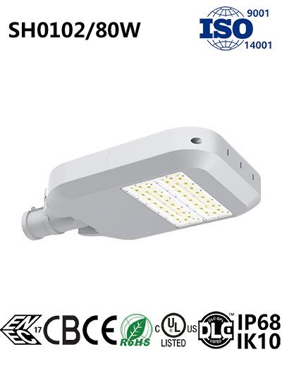 SH0102 80W LED Street Light