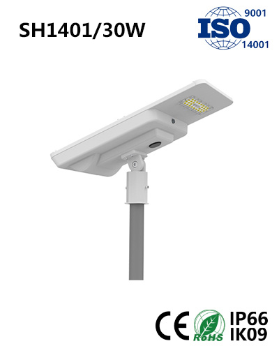 SH1401 30W Solar LED Street Light