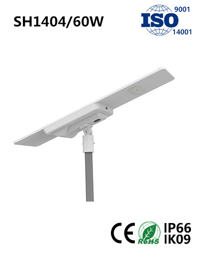 SH1404 60W Solar LED Street Light
