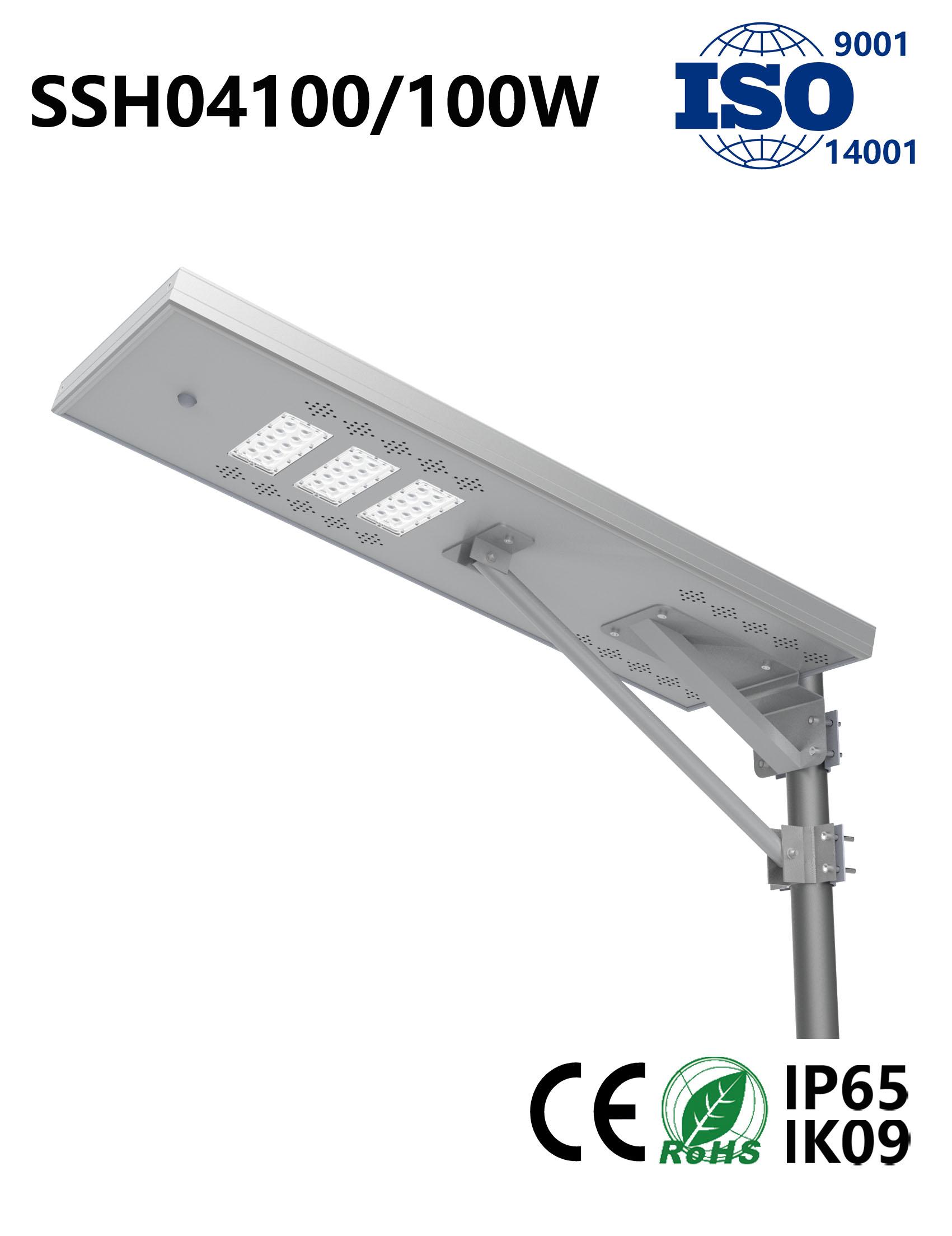SSH04100 100W Solar LED Street Light