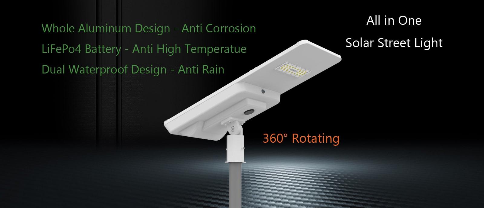 SH1405 80W Solar LED Street Light
