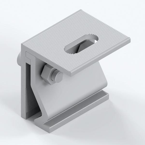 Vertical lock edge fiture