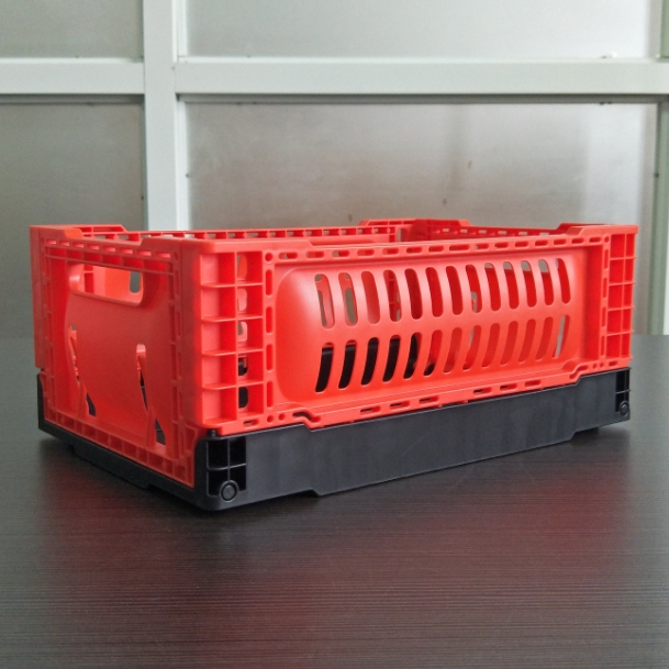 300*200*120 mm mini crate plastic foldable storage basket
