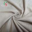 100% polyester warp knit synthetic faux suede leather fabric for shoes sofa home textile