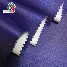 100% polyester taffeta Jacquard PU coated waterproof fabric for raincoat outdoor bags