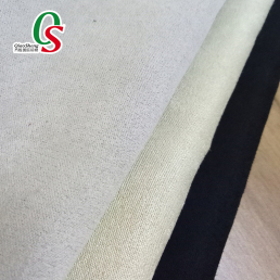 Faux suede based on satin cloth for sofa table cover garment home textile