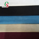 Premium synthetic warp knit suede leather fabric for sofa home textile pouch