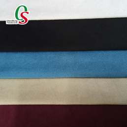 Premium synthetic warp suede fabric for sofa home textile pouch