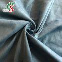 Wholesale 100%Polyester suede leather fabric for shoes bags sofa