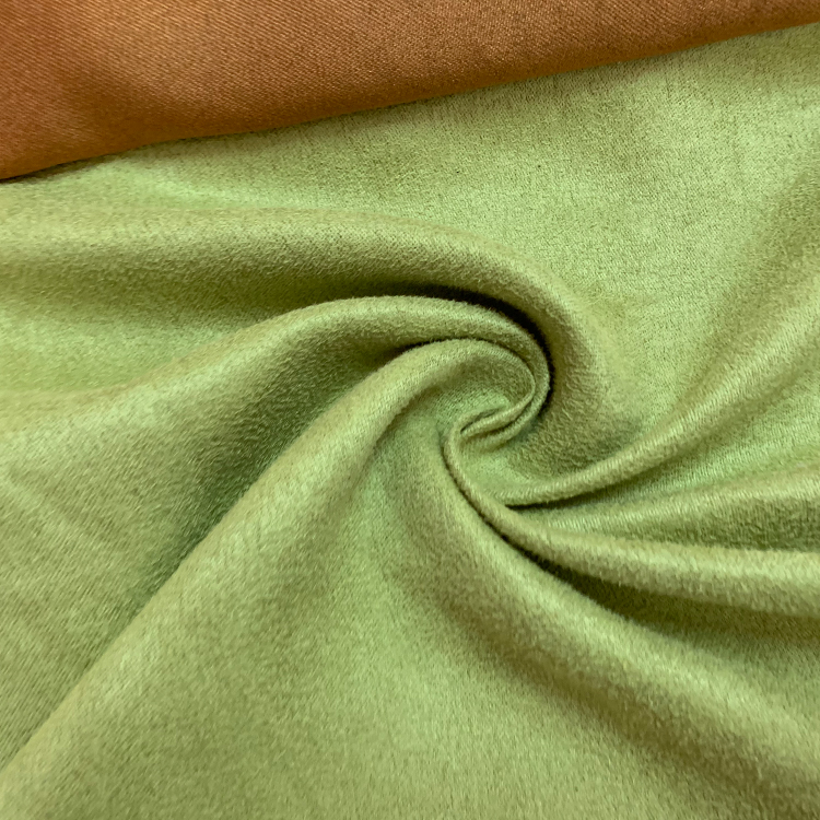 Faux suede encrypted cloth bottom fabric for sofa shoes
