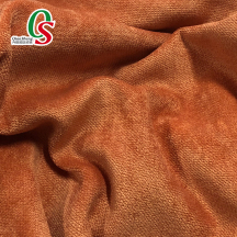 High quality brushed snow velvet fabric for Sofa Curtain Blanket
