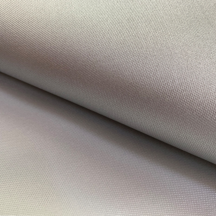 Waterproof polyester 210D silver coated oxford car cover fabric