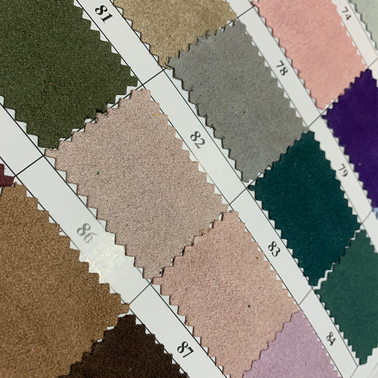 100% polyester sanding velvet  fabric for shoe bags sofa
