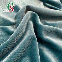 100% polyester KS elastic velvet fabric for shoes dress