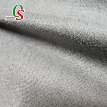 Weft Knitted premium faux suede leather fabrics for home textile shoes sofa Curtain