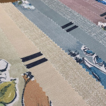 Linen printed compound White Nonwoven Fabric for Sofa bags