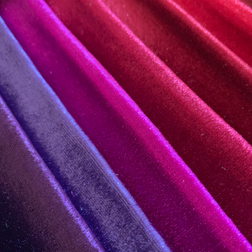 High quality velvet cotton fabric for sofa upholstery