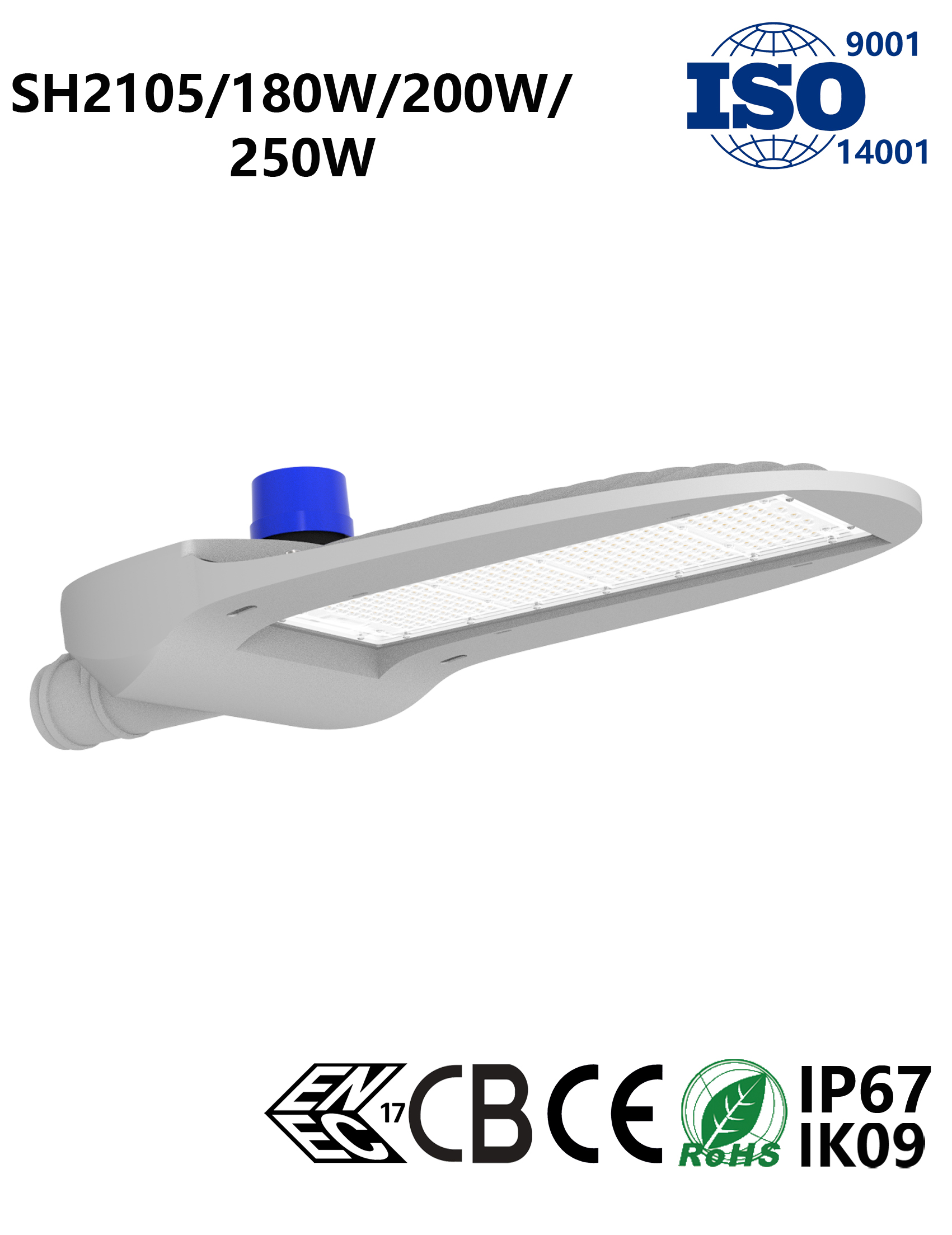 SH2105 180W-250W LED Street Light