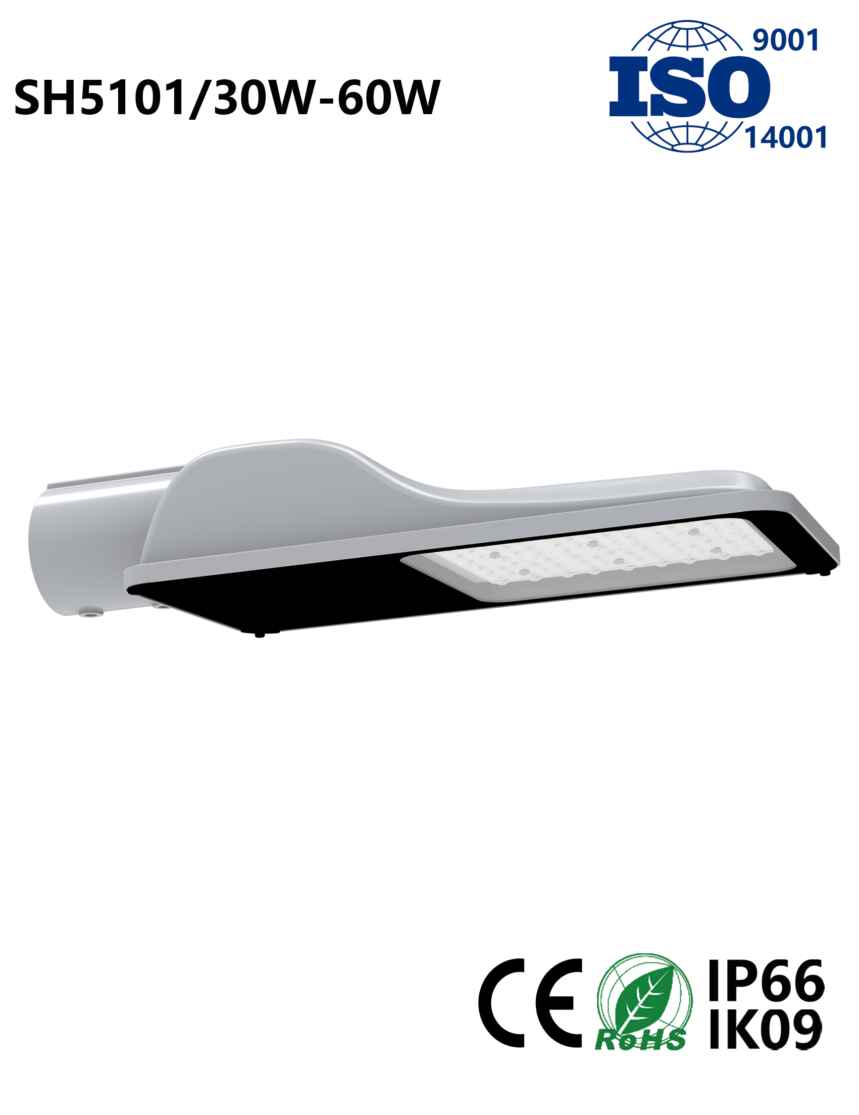 SH5101 30W-60W LED Street Light