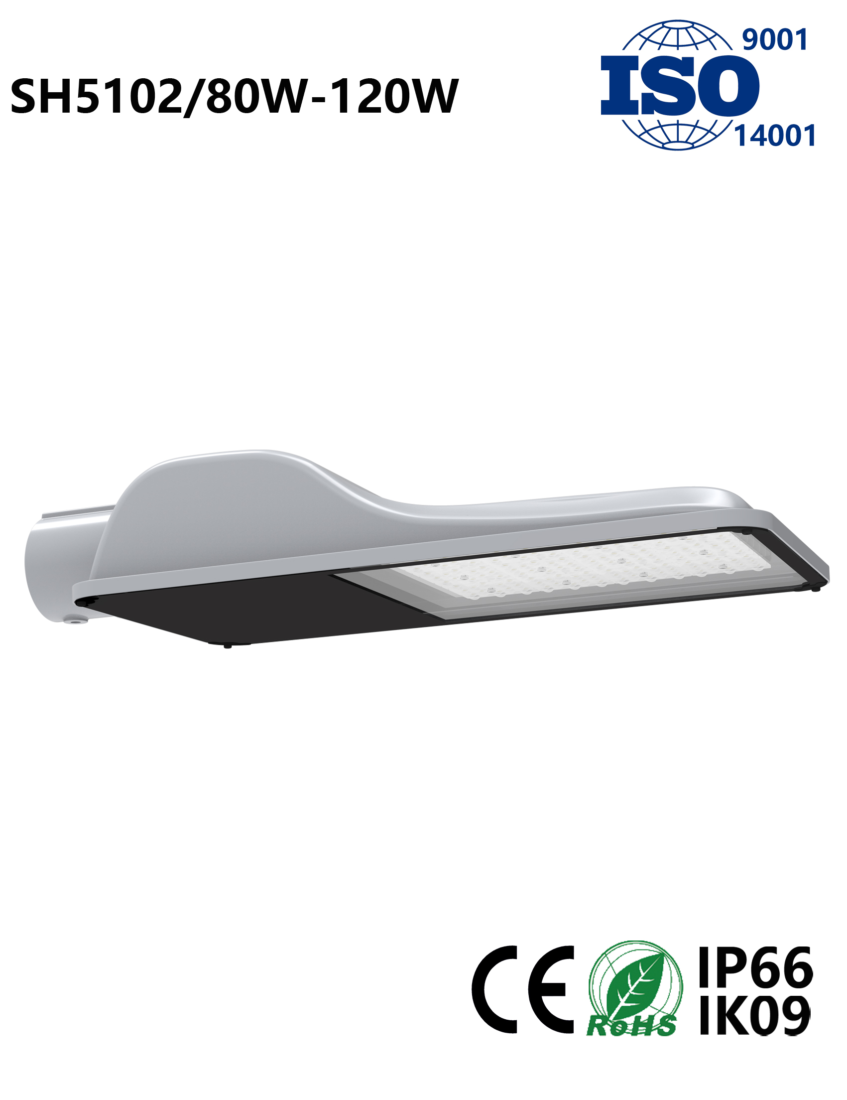 SH5102 80W-120W LED Street Light