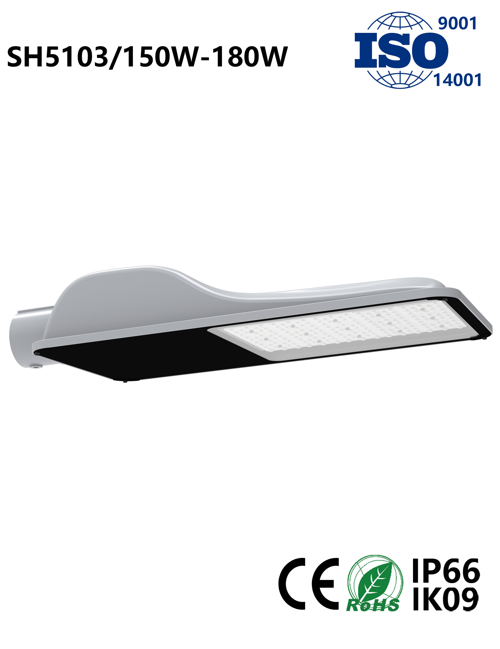 SH5103 150W-180W LED Street Light