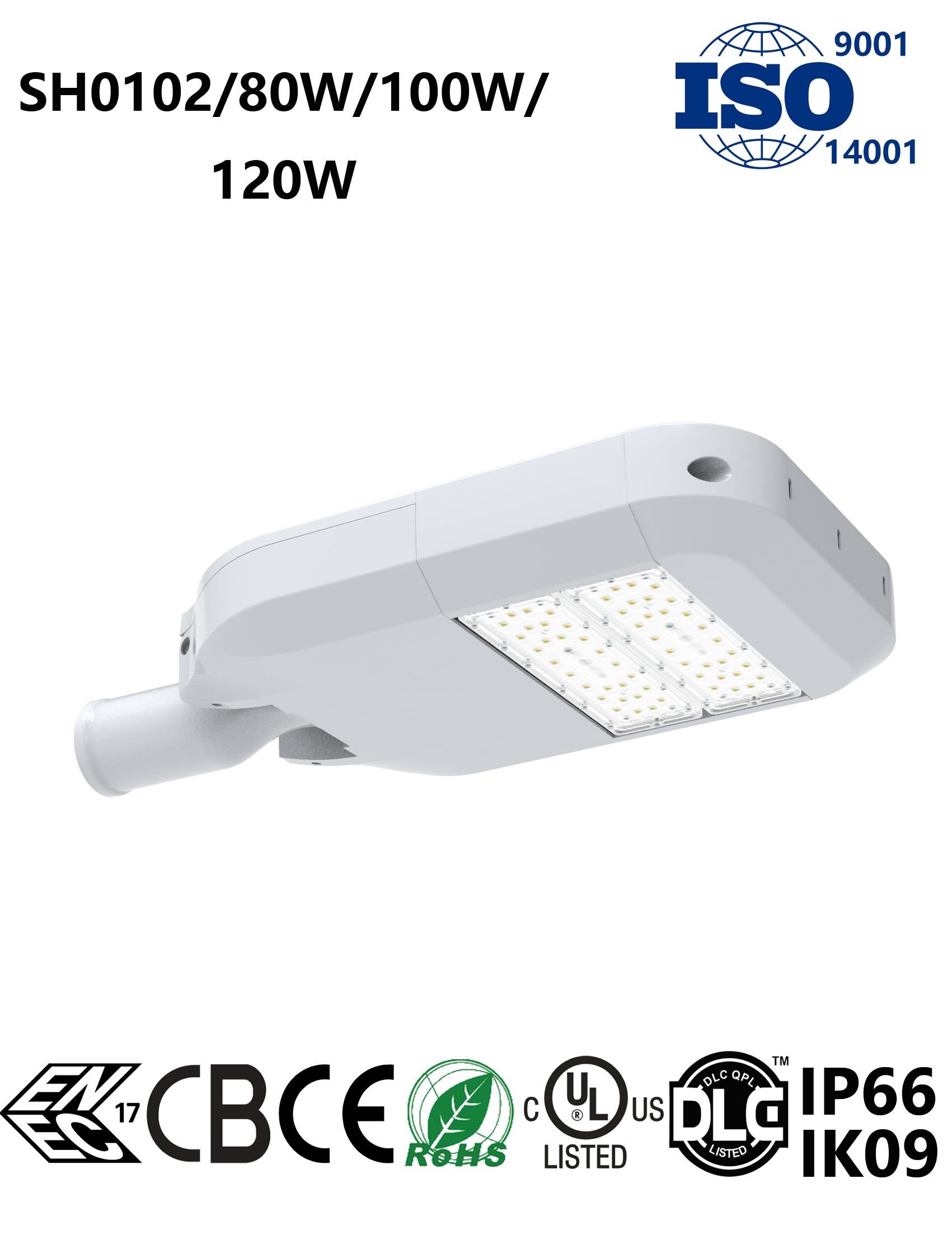 SH0102 80-120W LED Street Light