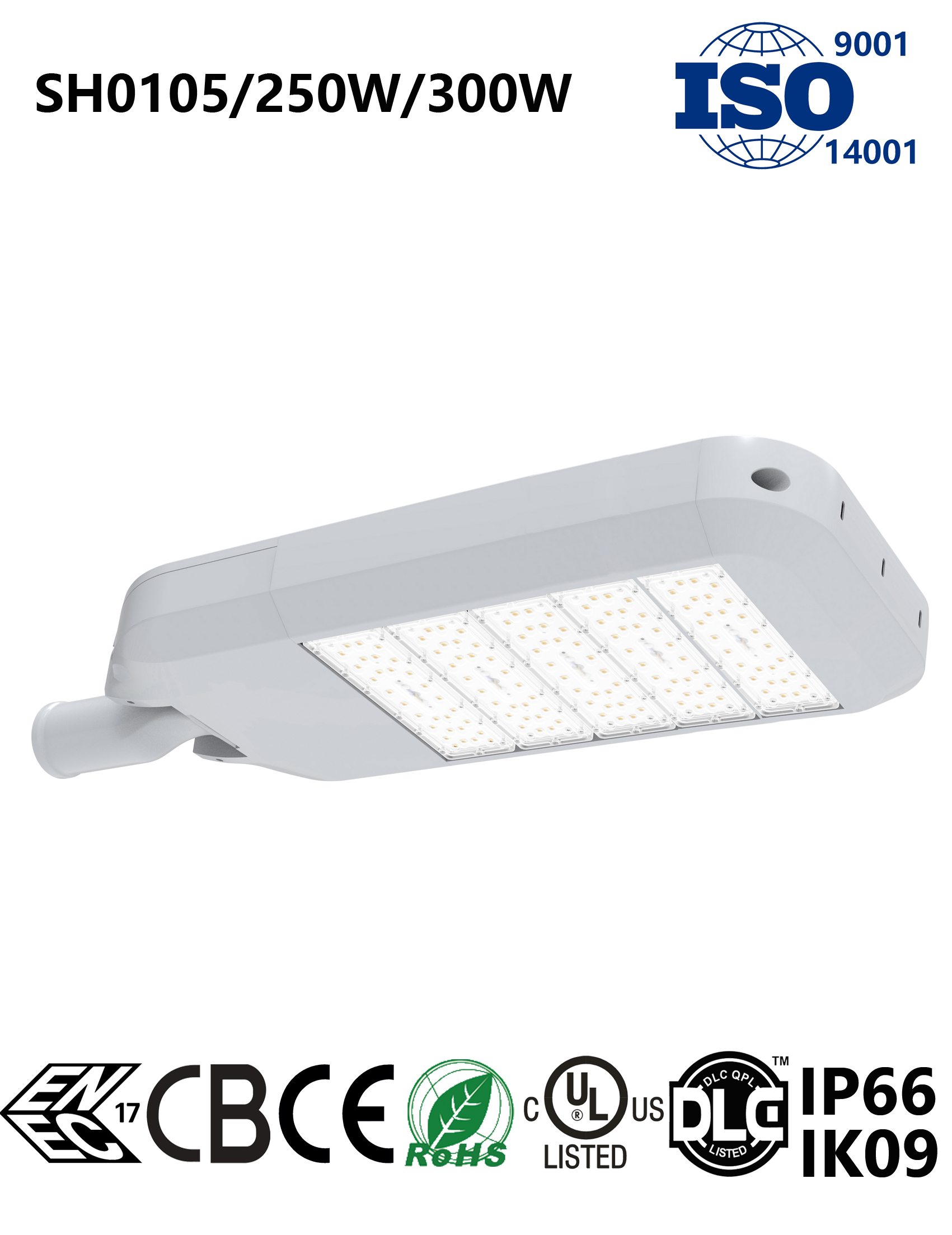 SH0105 250-300W LED Street Light