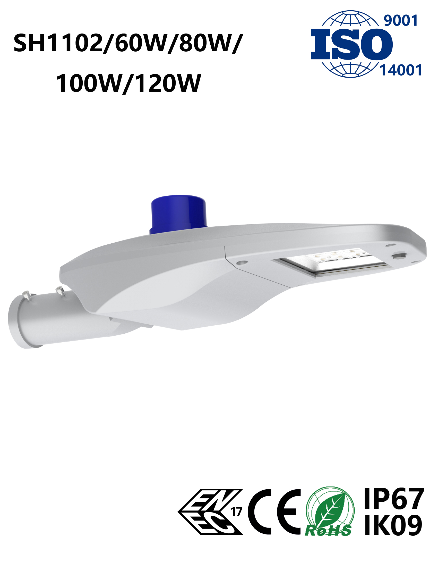 SH1102 60-120W LED Street Light