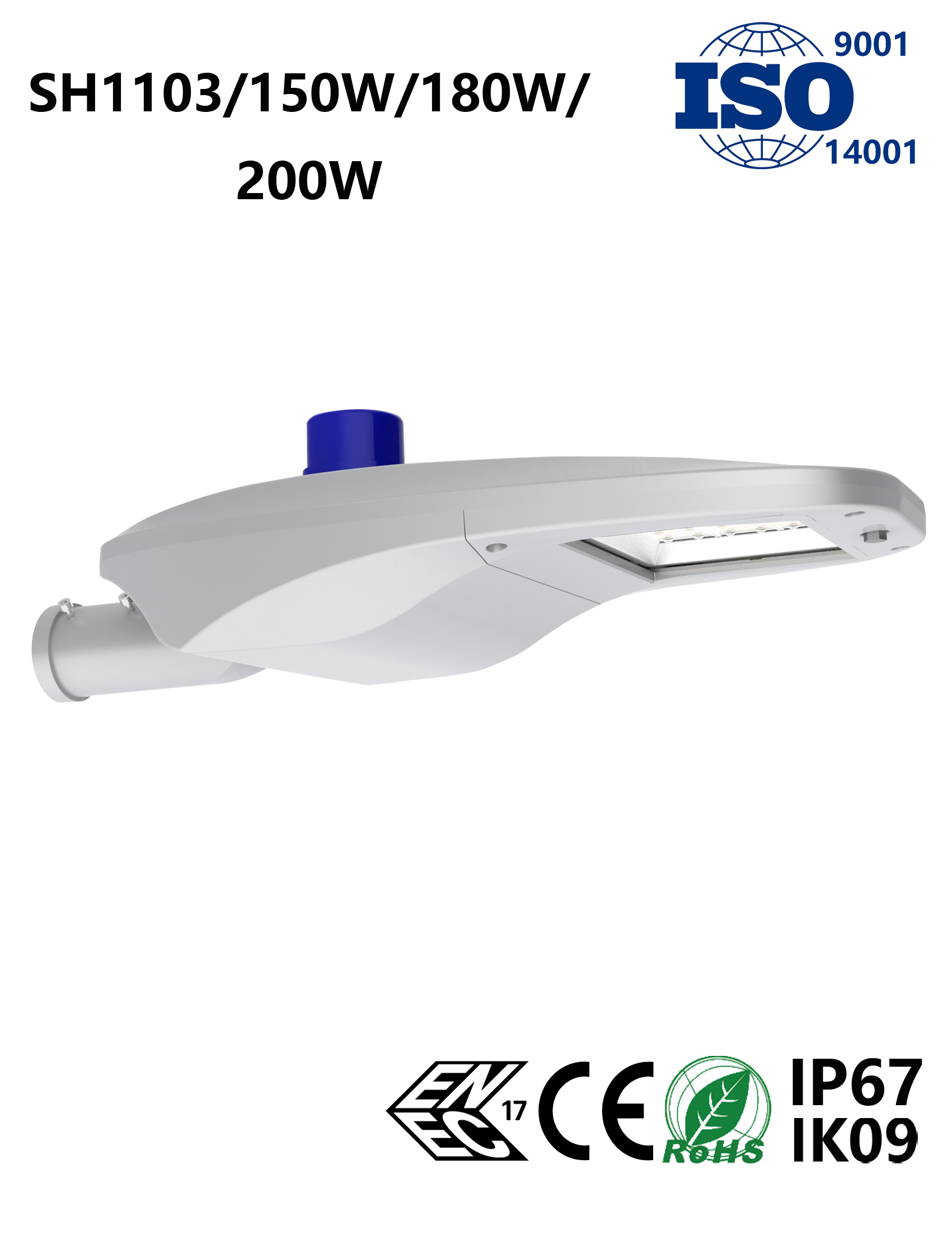 SH1103 150-200W LED Street Light