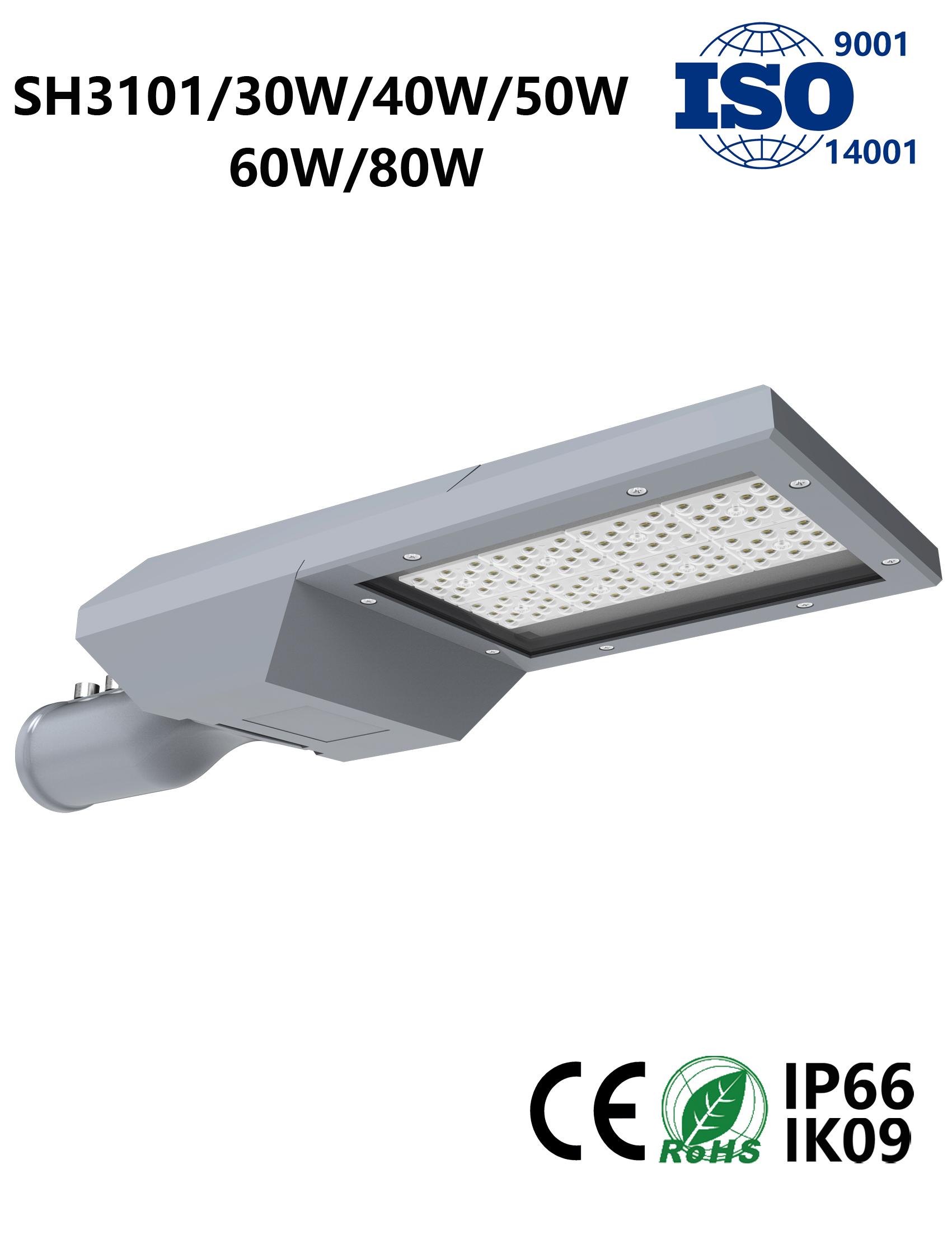 SH3101 30W-80W LED Street Light