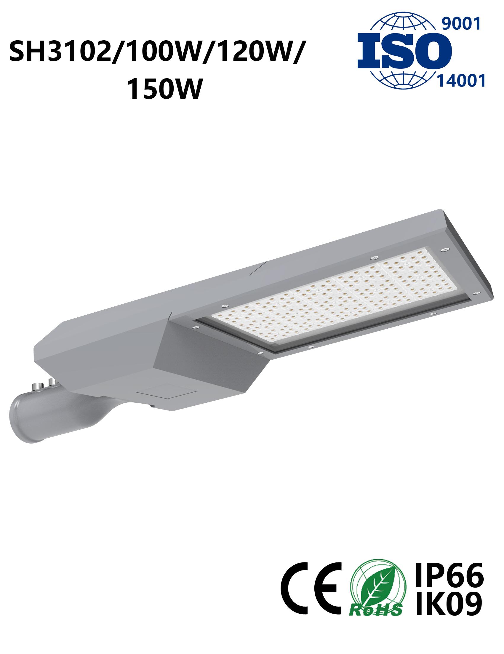 SH3102 100W-150W LED Street Light