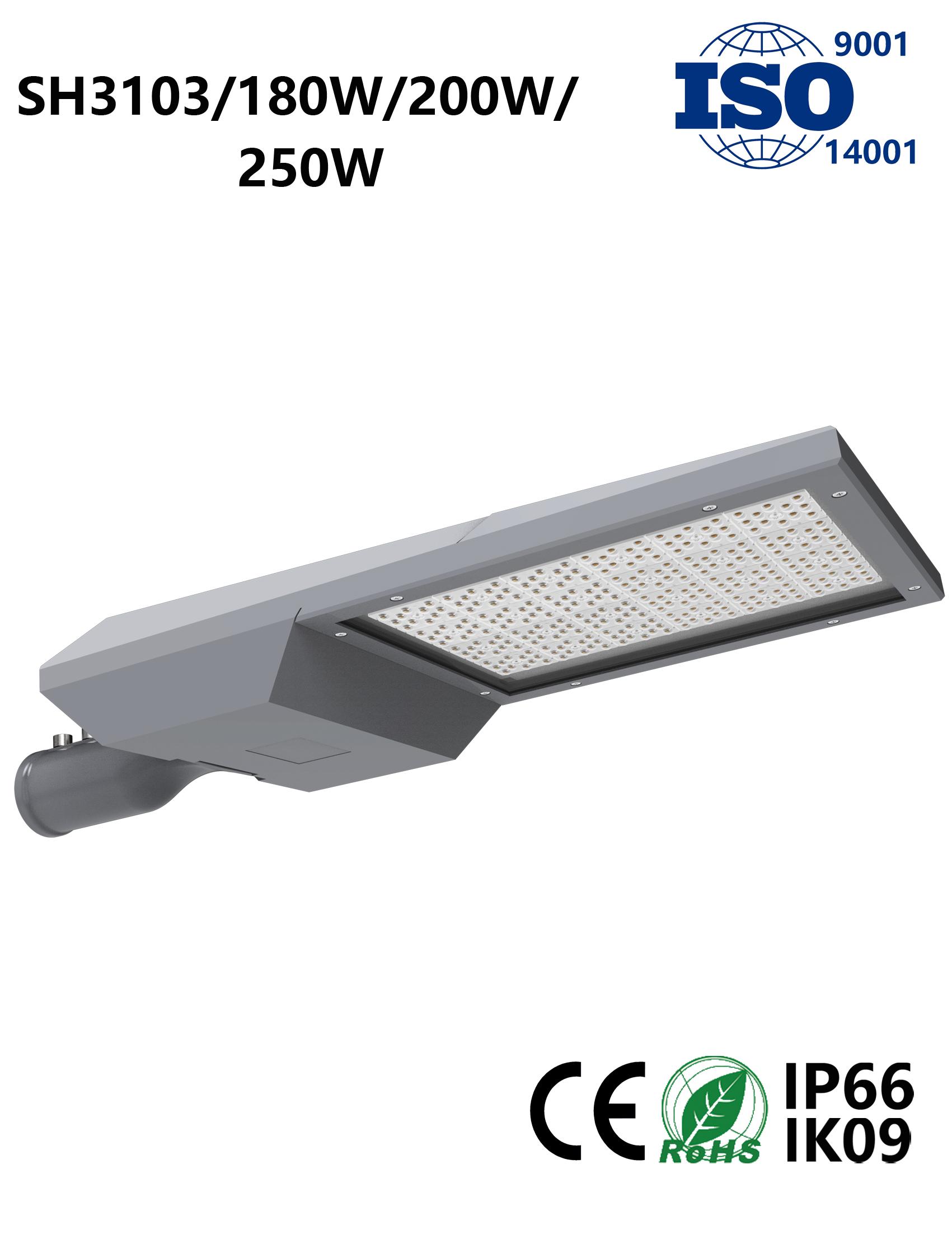 SH3103 180W-250W LED Street Light