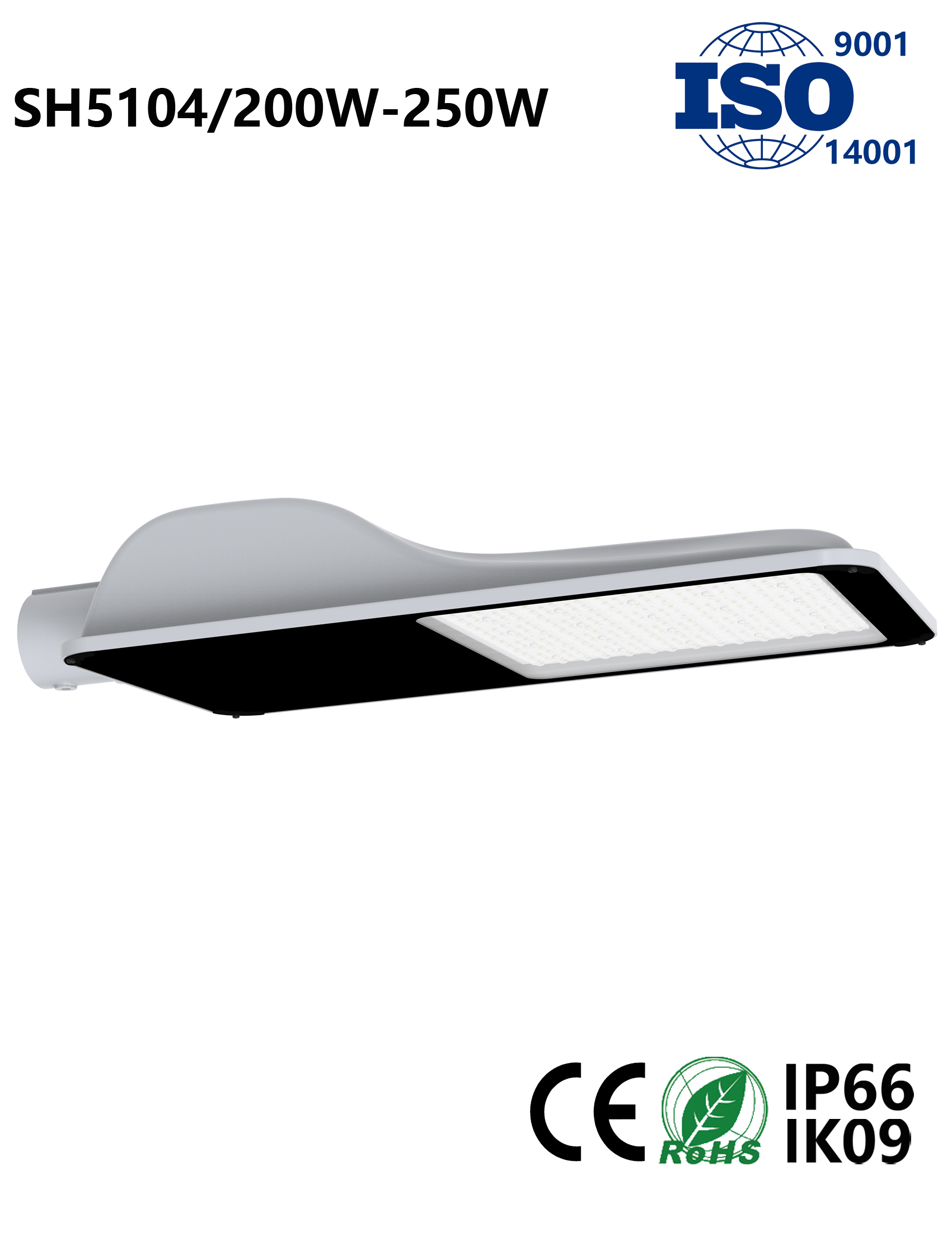 SH5104 200W-250W LED Street Light